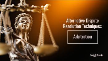 Image for Alternative Dispute Resolution Techniques: Arbitration post